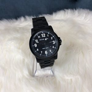Michael Kors black tone watch